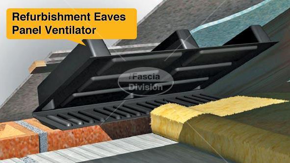Refurbishment Eaves Panel Ventilator
