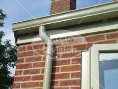 colour matched seamless ogee guttering
