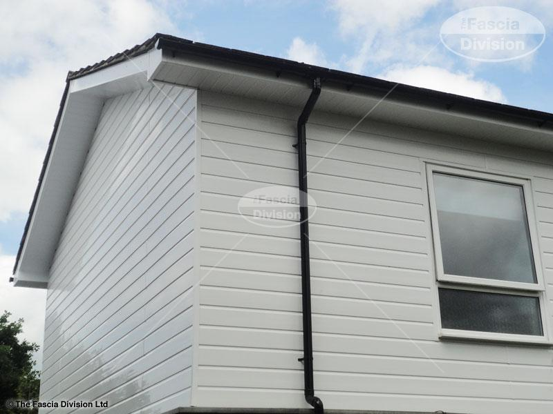the fascia division guttering fascias and soffits work