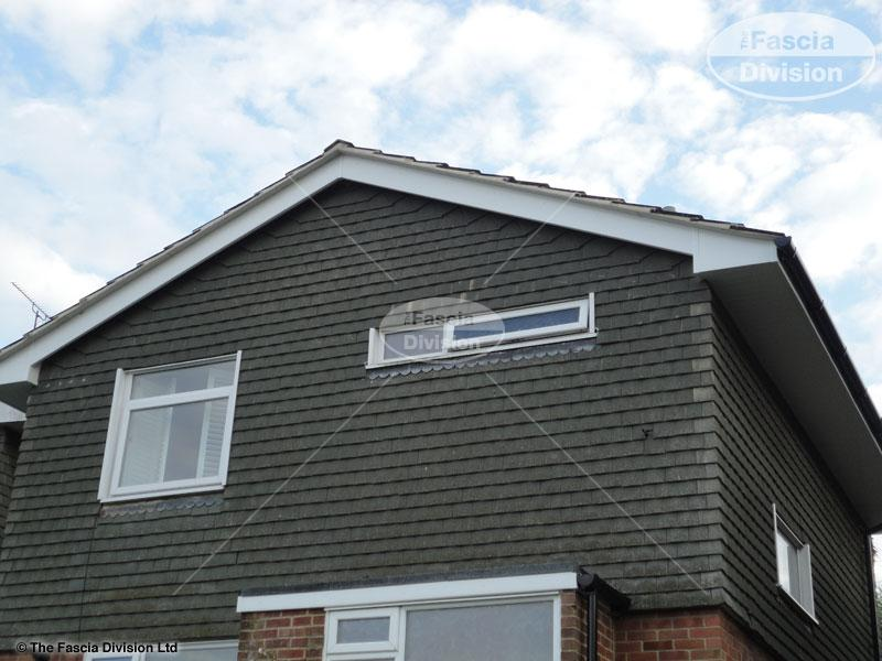 Upvc Round Guttering White Tongue Groove Soffit Fascias