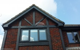 Bargeboard and soffit, Hamble-le-Rice Eastleigh, Hampshire