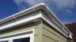 Fascia, soffit, guttering and HardiePlank cladding wiltshire
