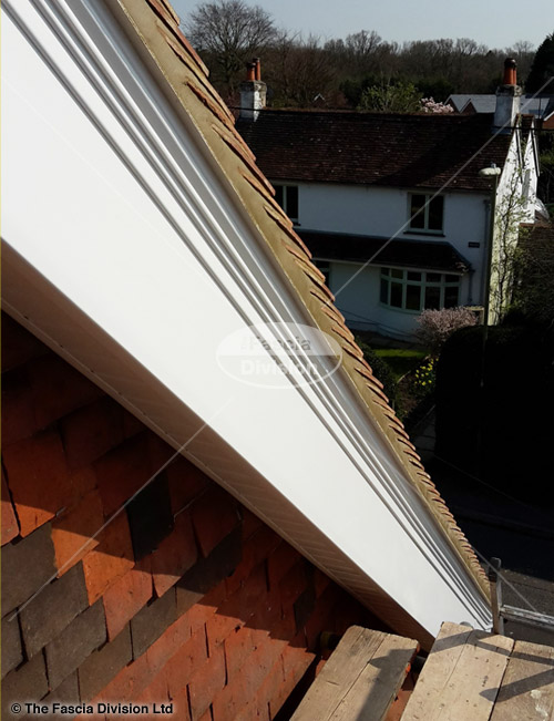 Upvc Bargeboard And Soffit Replacement In Shedfield