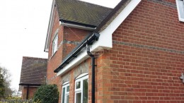 White UPVC fascia, soffit and guttering Chineham, Basingstoke, Hampshire