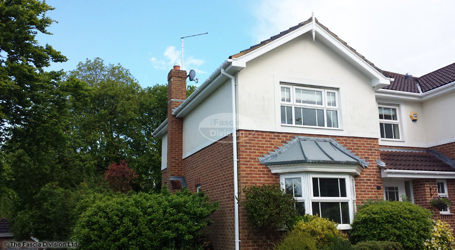 Fascias soffits guttering Whiteley Fareham Hampshire