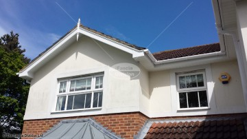 Fascias and soffits in Whiteley, Fareham, Hampshire