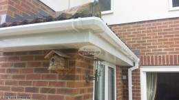 Replacement guttering in Whiteley, Fareham, Hampshire