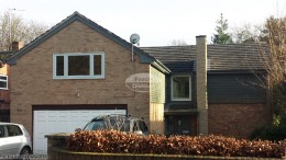 Coloured fascias, soffits and guttering in Cold Ash, Thatcham, West Berkshire