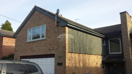 Coloured UPVC fascias and soffits in Cold Ash, Thatcham, West Berkshire