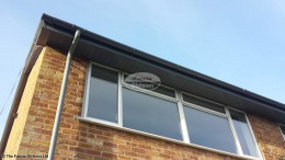 Grey fascia and soffits in Cold Ash, Thatcham, West Berkshire