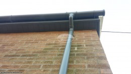 Grey fascia, soffits and guttering in Cold Ash, Thatcham, West Berkshire