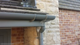 Grey fascias, soffits and guttering in Cold Ash, Thatcham, West Berkshire