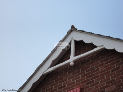 Decorative fascia roof spire Waterlooville