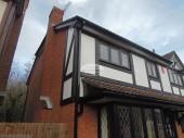 Mock Tudor replacement Bishopstoke, Southampton, Hampshire