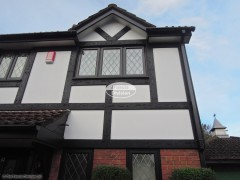 Mock Tudor Timber cladding Bishopstoke, Hampshire