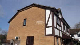 Replace fascia, soffit, guttering and mock tudor beams