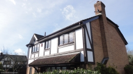 Replace mock tudor beams, fascias and soffits
