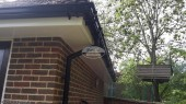 UPVC fascias and soffits with ogee guttering Bishops Waltham