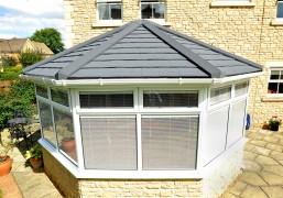 Lightweight roof system