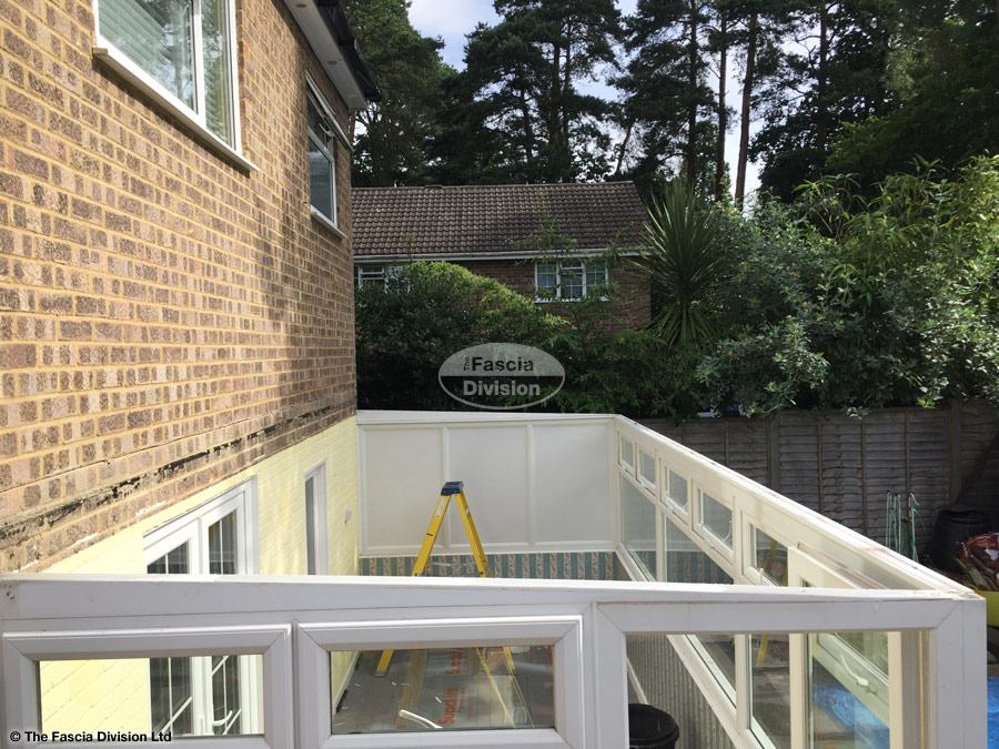 Replace The Roof On A Lean To Conservatory With An Equinox