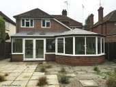 Conservatory roof replacement by The Fascia Division in Chobham, Surrey