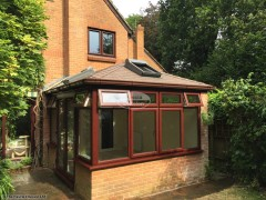 Replace Edwardian conservatory roof with equinox warm roof in Wockingham