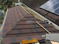 Equinox tiled conservatory roof installation in Swindon, Wiltshire
