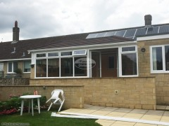 Replace conservatory roof with Equinox warm roof system in Swindon, Wiltshire