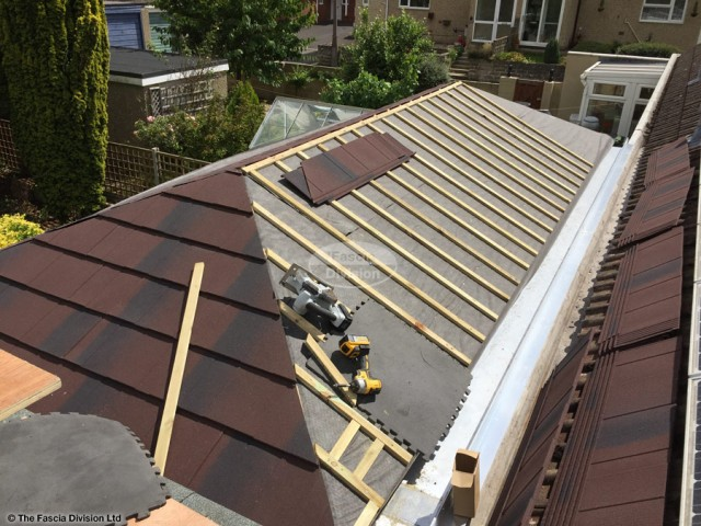 Tiled conservatory roof installation in Swindon, Wiltshire