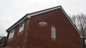 white,fascia,board,soffit,guttering,full,replacement,black,half,round,gutter,hampshire