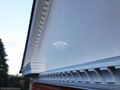 Bespoke fascia and soffit, guttering installation by The Fascia Division