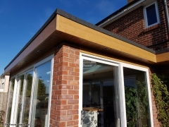 Fascias and soffits flat roof replacement Waterlooville
