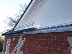 Here is one of our bespoke fascia and soffit installations