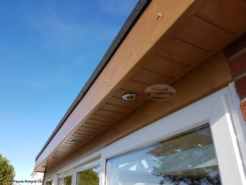 Install new LED lighting in new soffits Waterlooville