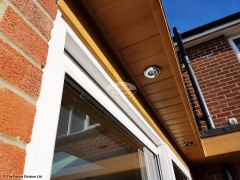 Replace fascias and soffits install new LED lighting Waterlooville