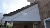 Replacement fascia soffit guttering recent replacement