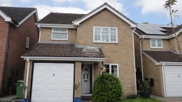 full rooftrim replacement soffits fascias squareline guttering white