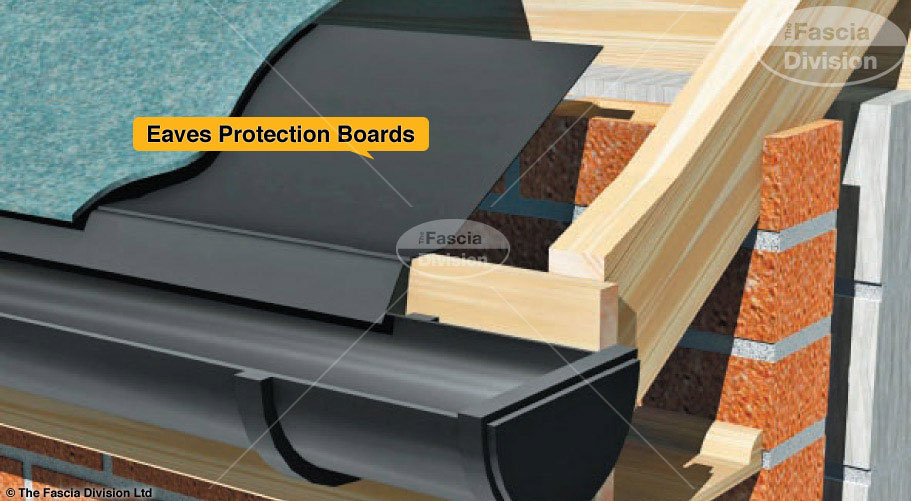 Eaves protection boards