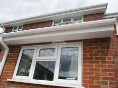 Soffit, fascia and square guttering replacement