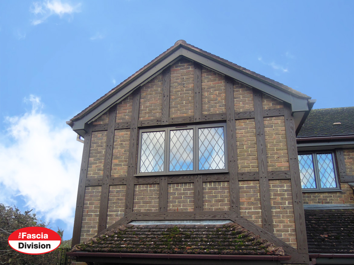 Replica Wood mock tudor beam installer