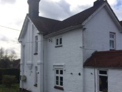 Before installation of new fascia soffit guttering and decorative fascia