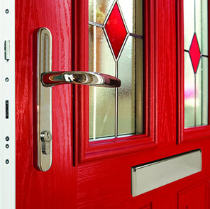 Chatsworth composite door close up