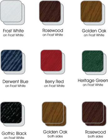 Door colour options