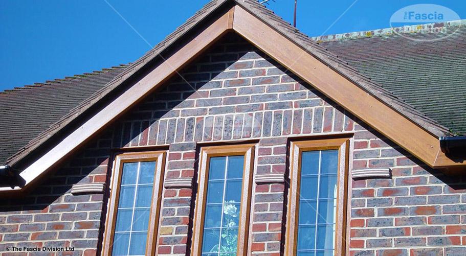 light oak bargeboard fascia division southampton