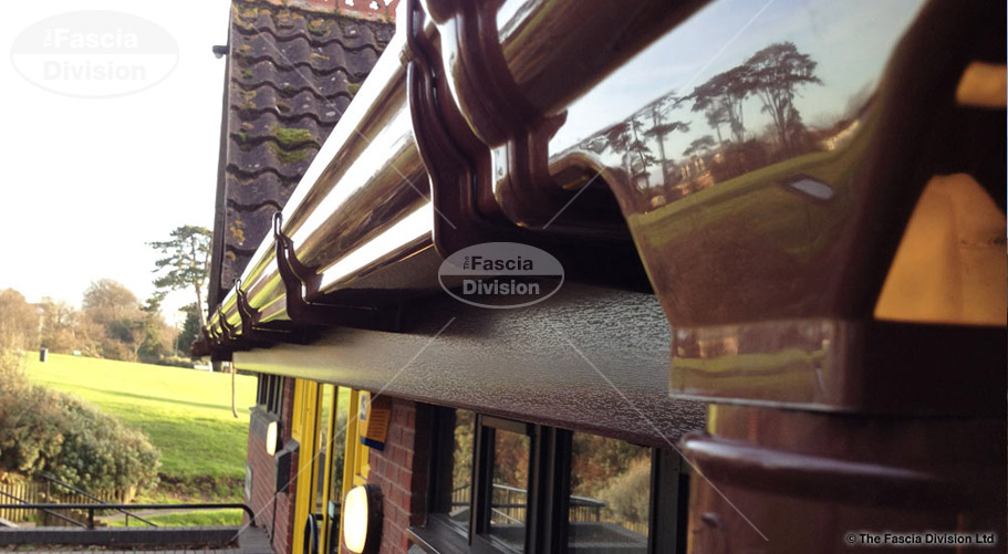 ogee brown guttering fascia division southampton