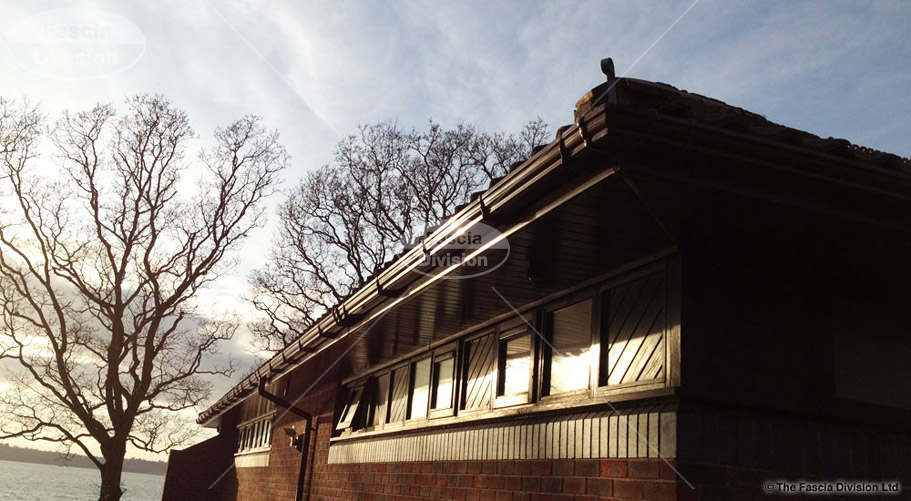 ogee brown guttering fascia division